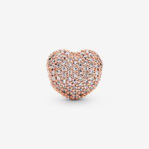 🌸Pandora Pavé Heart Clip Charm&nbsp